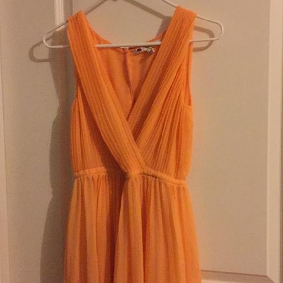 H by Halston Dresses & Skirts - Halston Dress Size 0 orange-peach